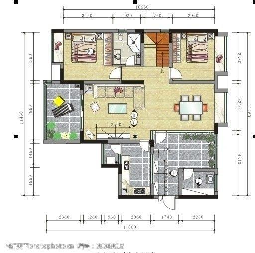 个人房屋平面图室内设计图片