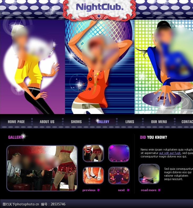 音乐网页音乐纯flah网站设计