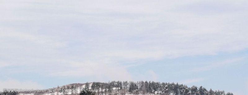 大面积背景冬之北国图片