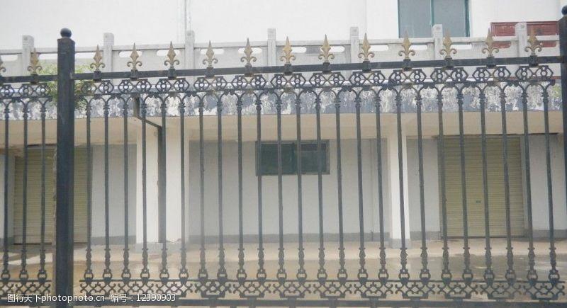 铁艺围墙围墙图片