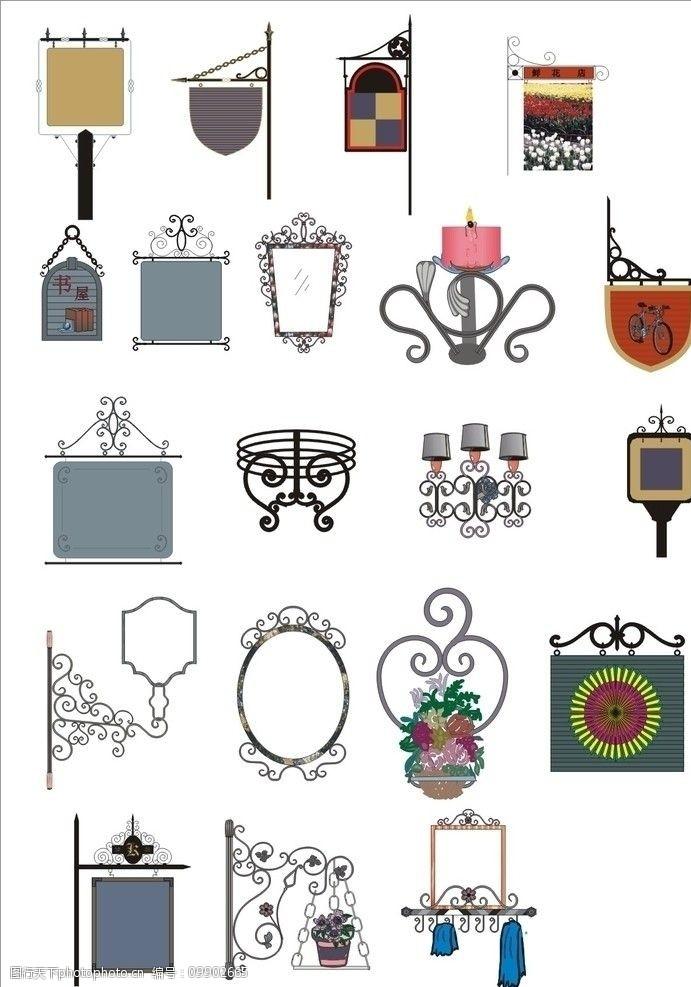 花边铁艺铁艺装饰图例图片