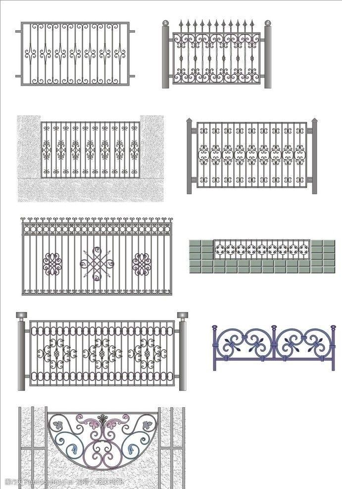 花边铁艺围栏图例