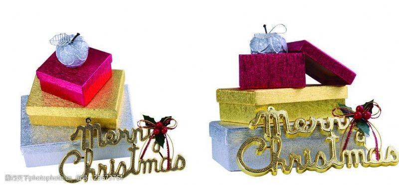 圣诞元素集合圣诞节礼物