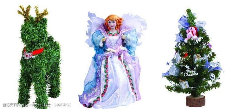 圣诞元素集合圣诞节装饰品