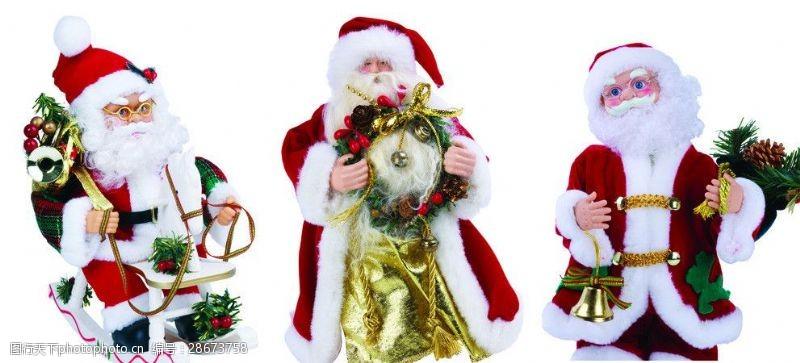 圣诞元素集合圣诞老人