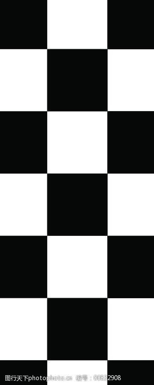 黑白格图片