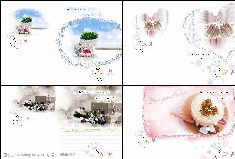 爱系列中性心的诉说本本设计图片