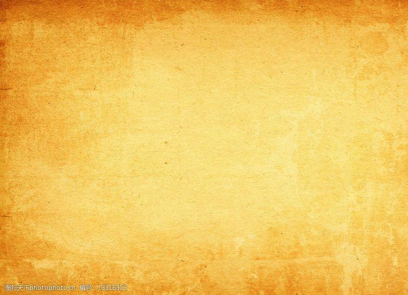黃色宣紙黃色紋理素材圖片